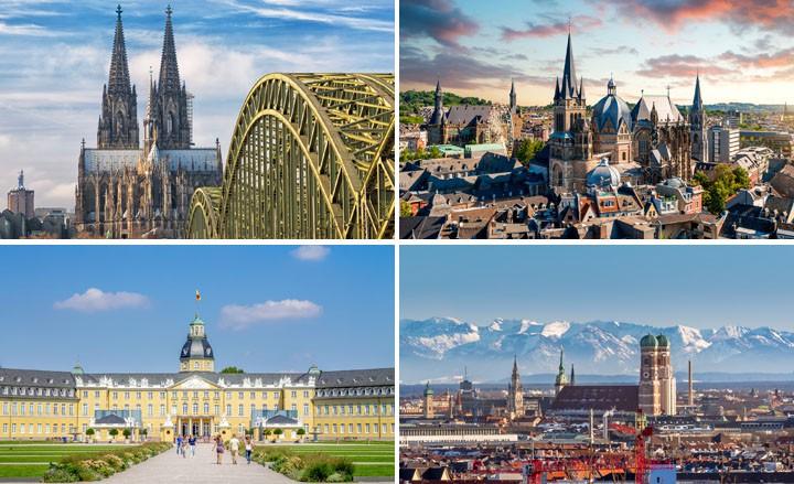 Dein Städtetrip nach München, Köln, Karlsruhe oder Aachen!