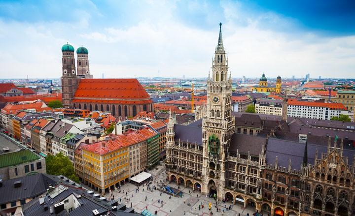 Servus Grüzi und Hallo - auf nach MÜNCHEN - Kurzurlaub in Bavaria