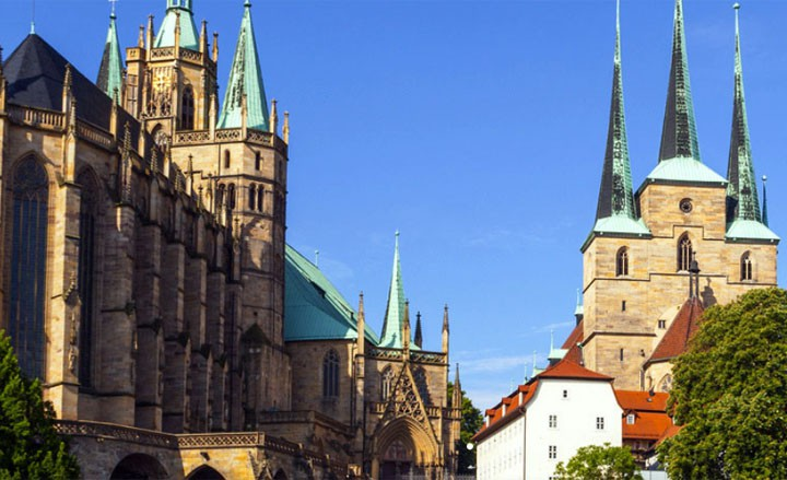 Erfurt - Entdeckungsreise durch Thüringens Landeshauptstadt