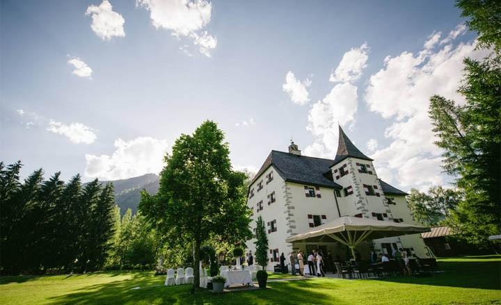 Romantisches Luxuswochenende im Schloss in Zell am See