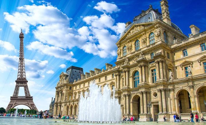 Romantisches Luxus-Wochenende mitten in Paris