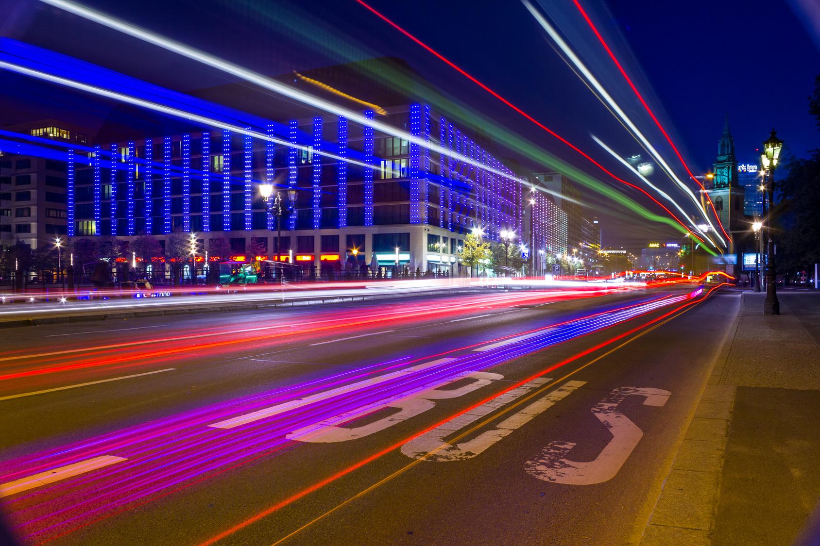 lichtmalerei bus - Bewerbung Berlin Tag Und Nacht