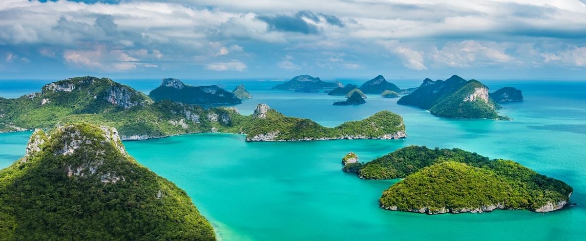 Thailand Inseln Karte.Die 14 Schönsten Inseln In Thailand Liste Klima Und Tipps