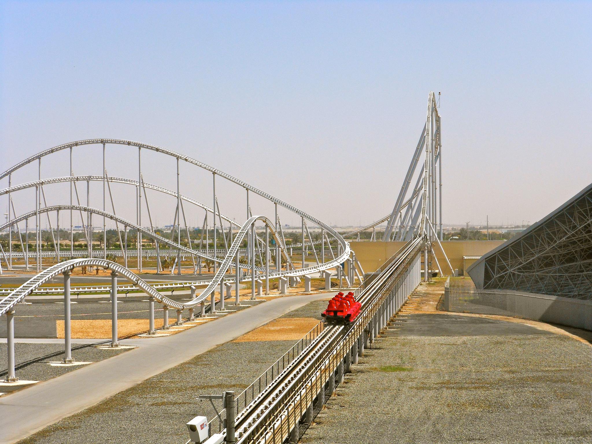 Formula Rossa in Abu Dhabi