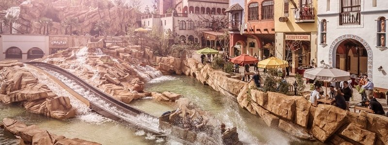 Phantasialand Themenwelt Mexico