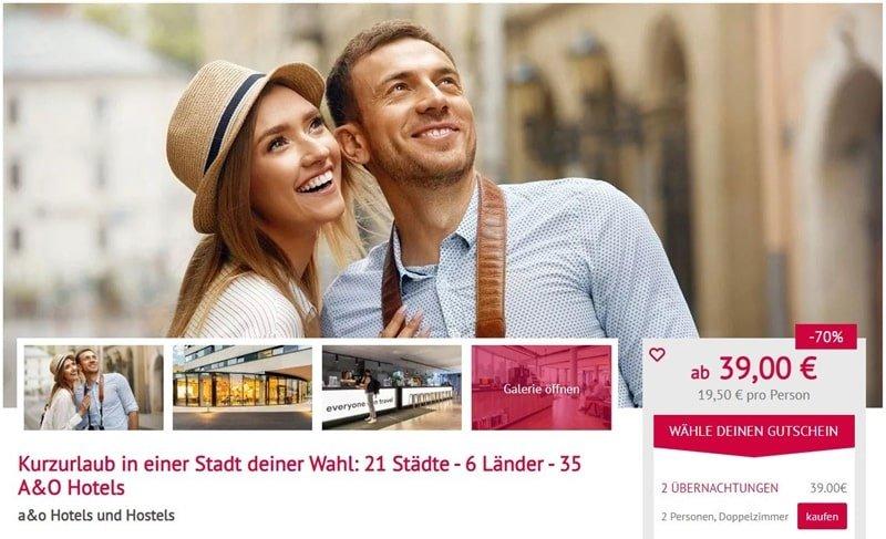 voucherwonderland Geschenk-Gutschein 2 /Übernachtungen 2 Personen 13 L/änder 100 Hotels