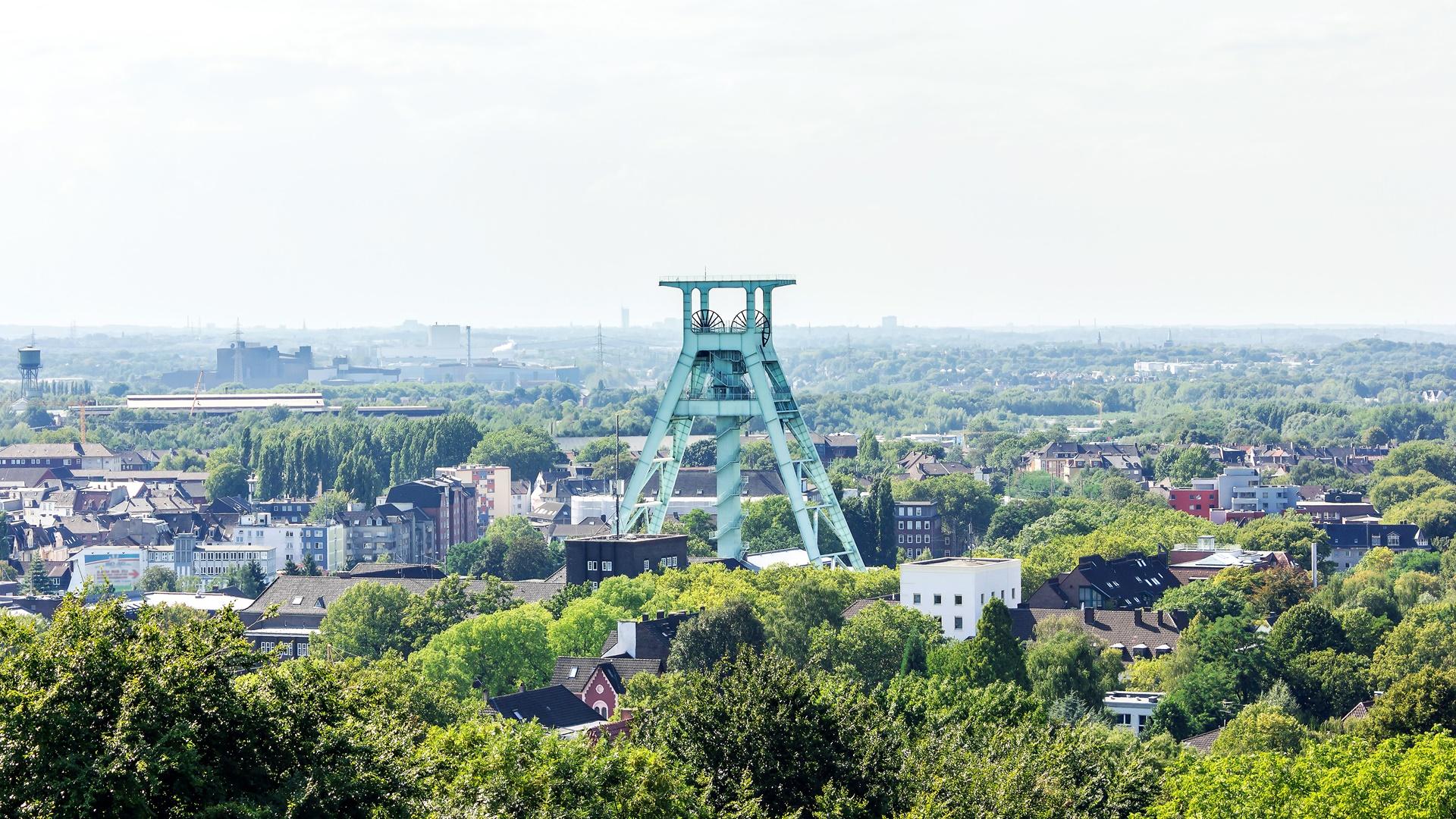Blick auf den Frderturm in Bochum | Stadtbild