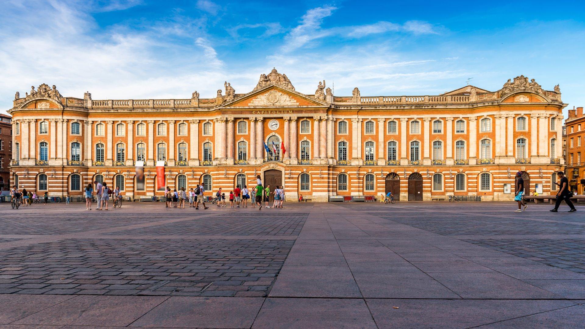Le Capitole Toulouse en Midi-Pyrnes, Occitanie en France