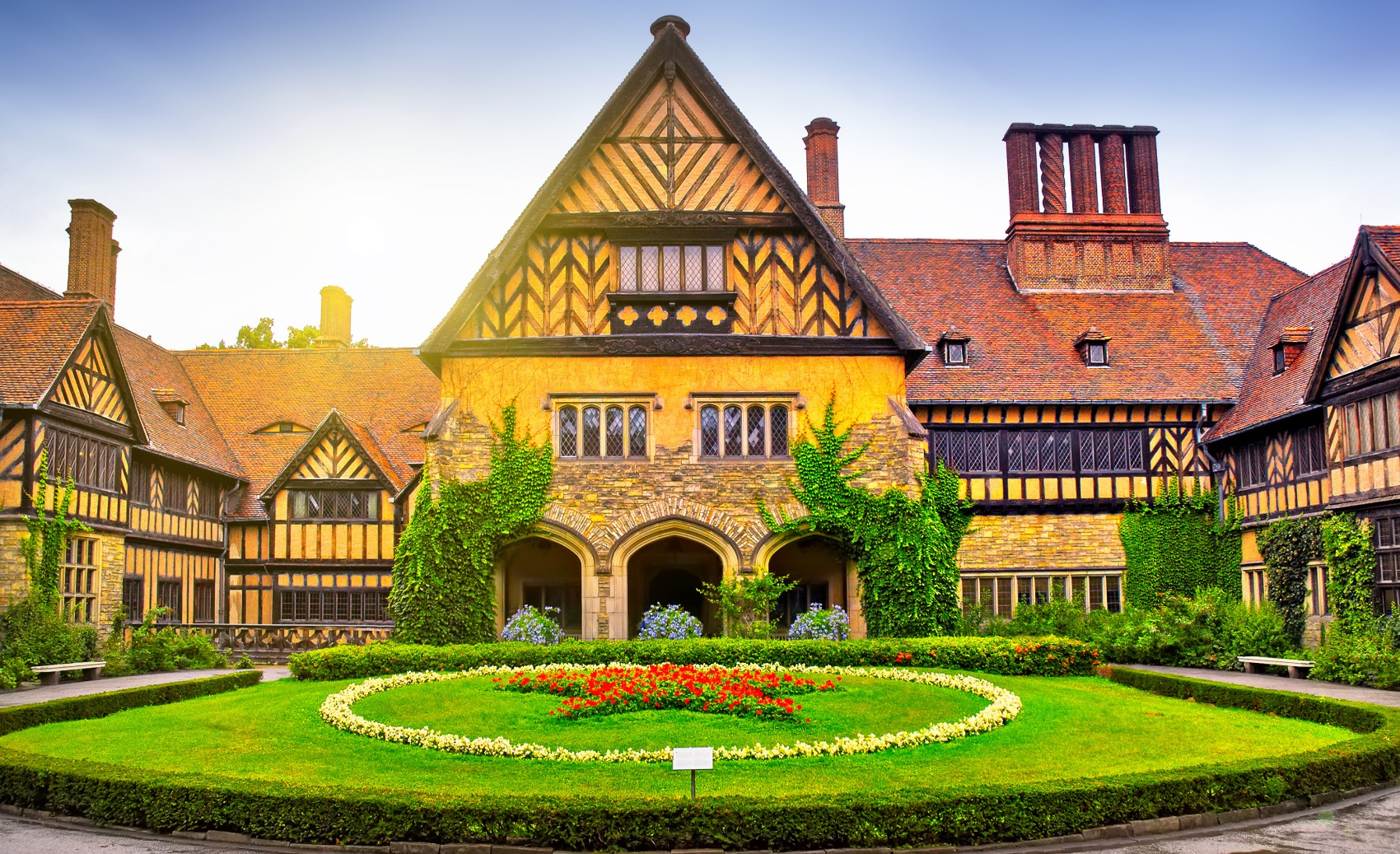 Cecilienhof Palace in Germany