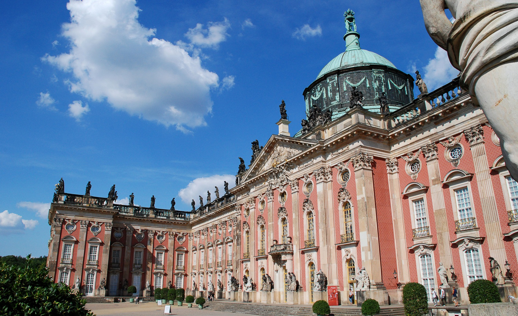 New Palace (German: Neues Palais) in the former royal gardens of Sanssouci