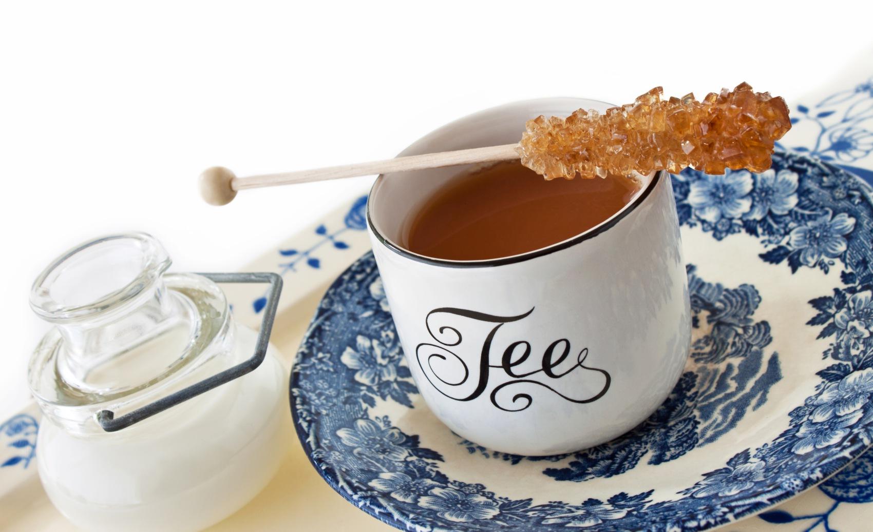 Ostfriesen -Tee mit Sahne