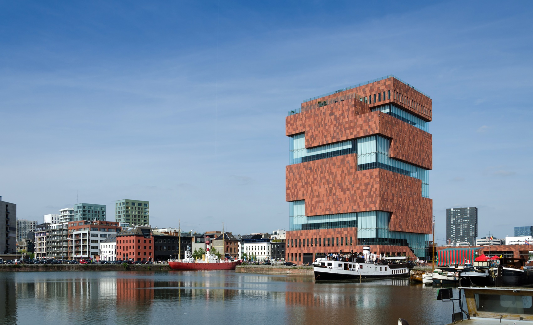Museum aan de Stroom (MAS) in Antwerp