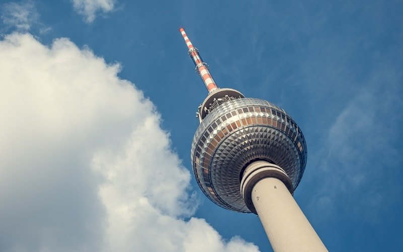 Kuppel Fernsehturm Berlin