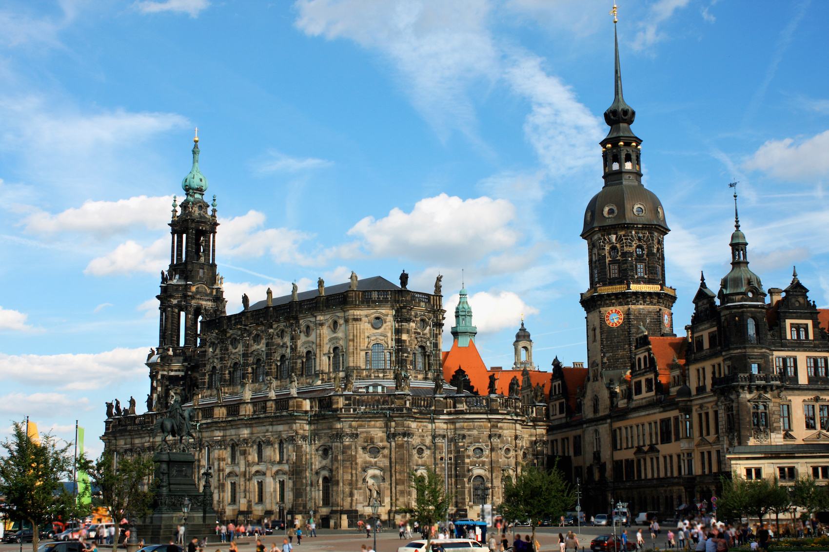 Dresden Castle or Royal Palace is one of the oldest buildings in Dresden