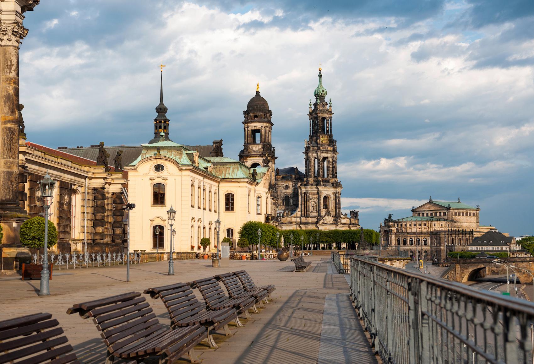 Bühlische Terrasse in Dresden
