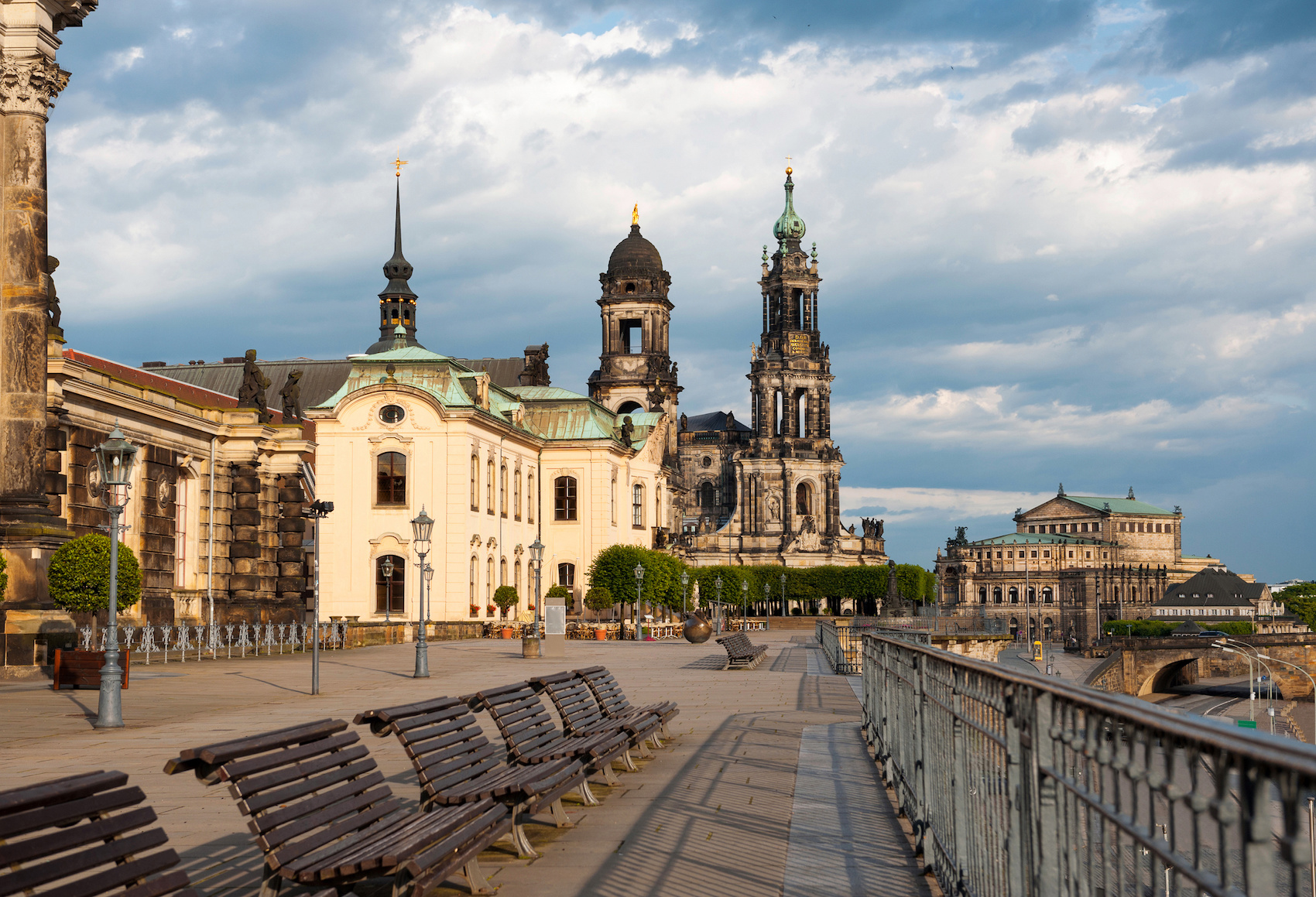 BBruhl Terrase in Dresden