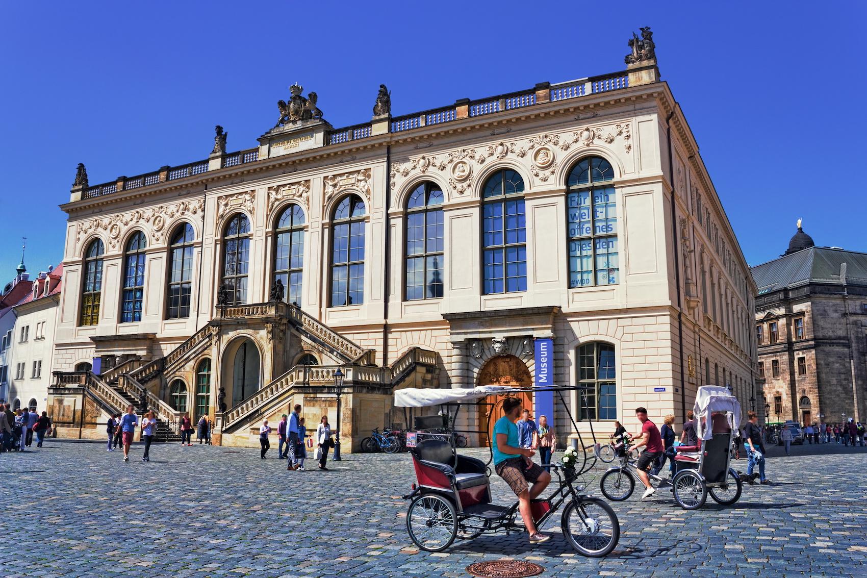 Verkehrsmuseum in Dresden