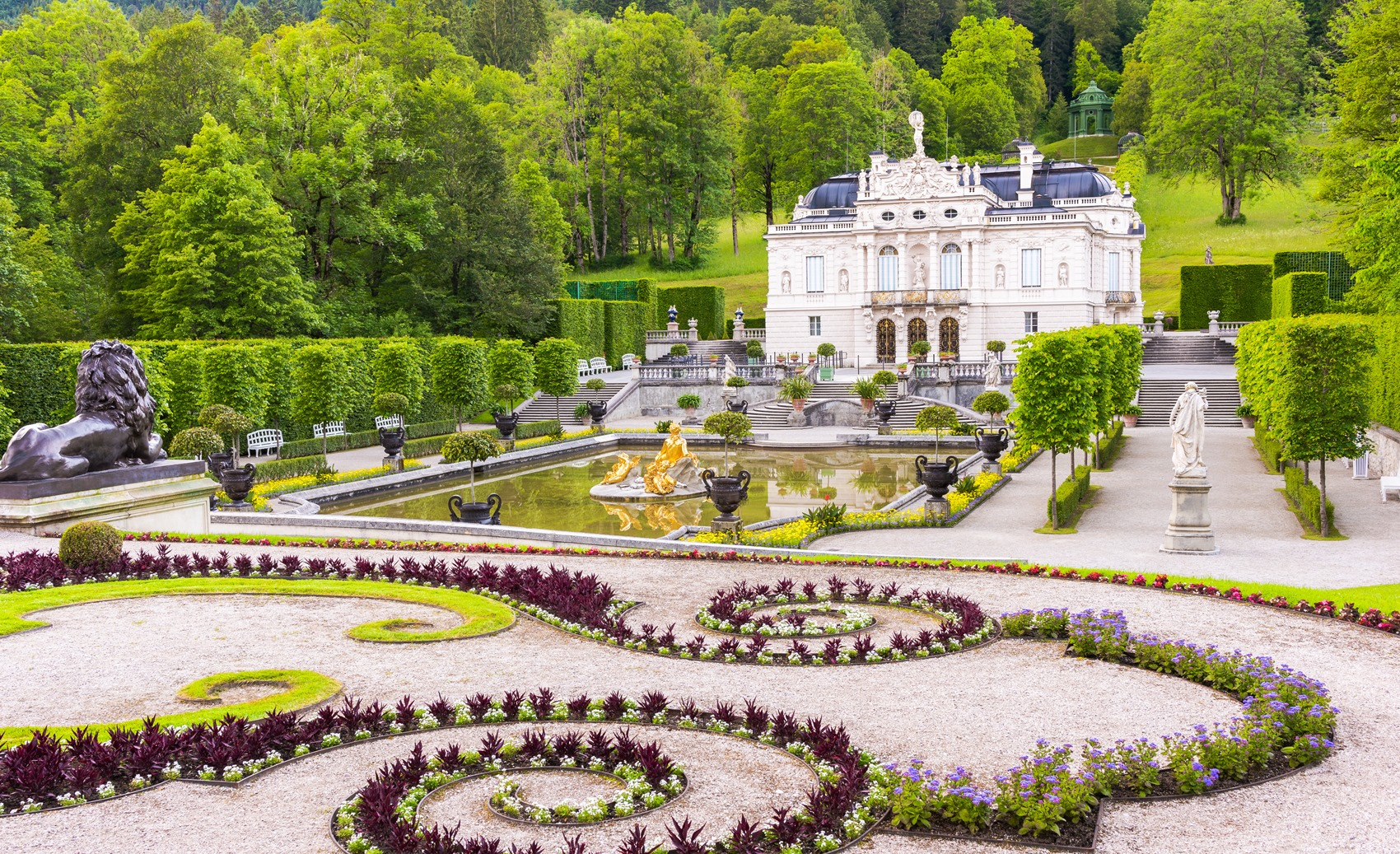 Linderhof - Beautiful Bavarian Castle