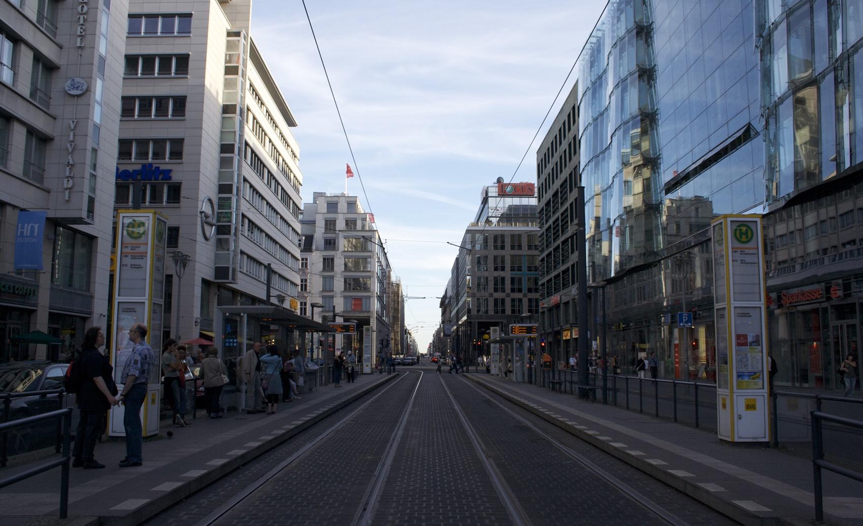 Friedrichstraße Berlin ÖPNV