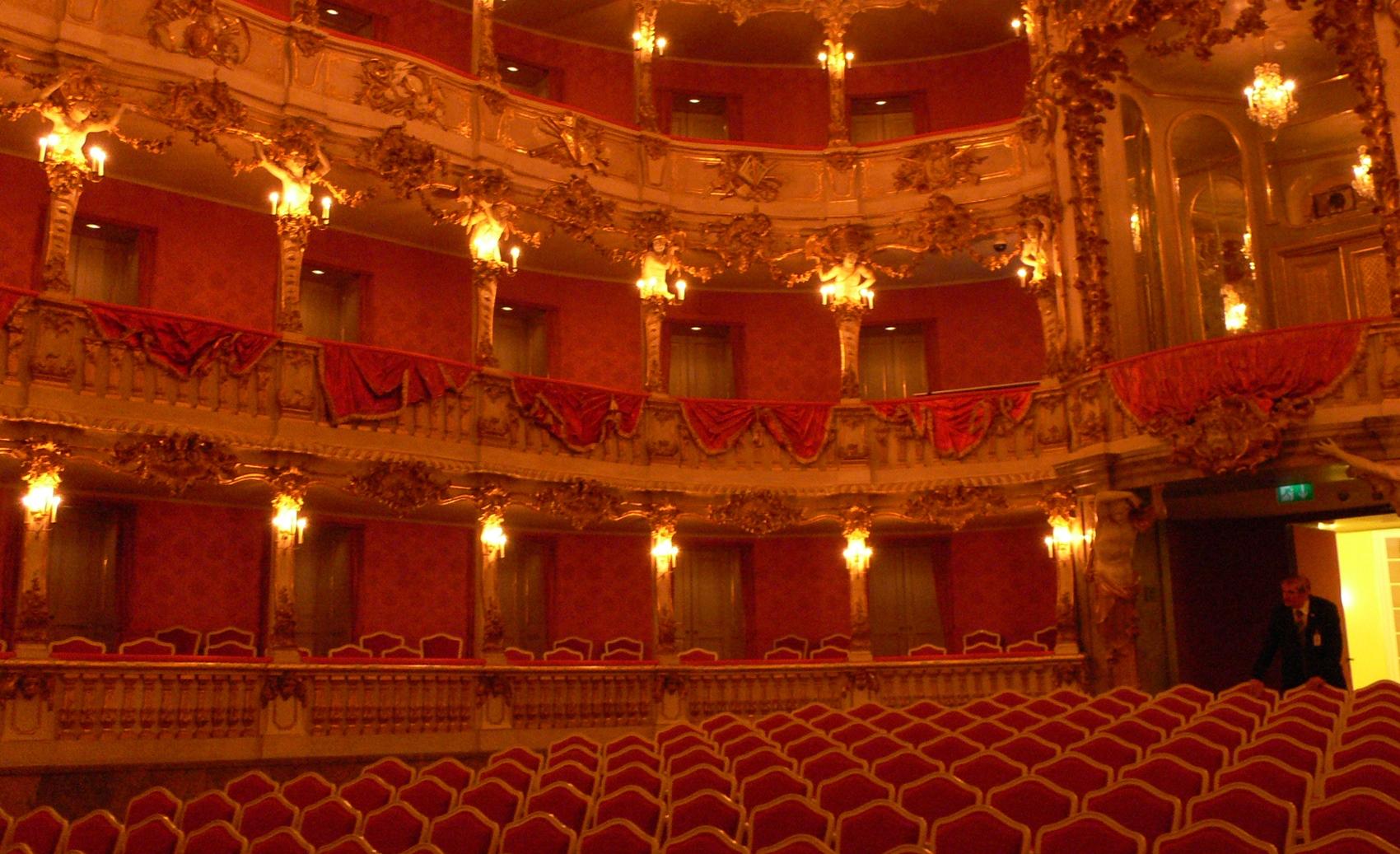 Residenz München Theater Ränge