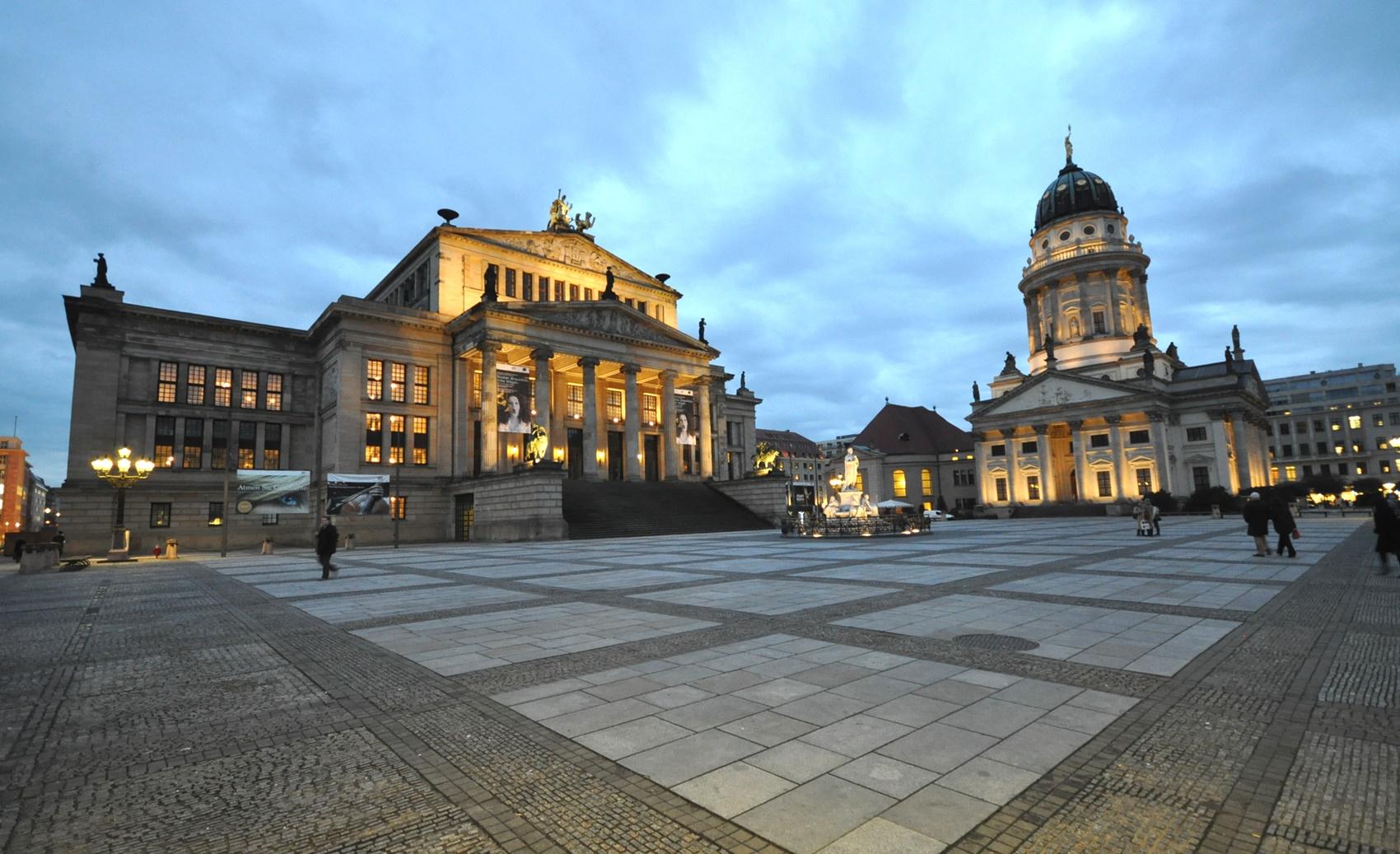 Gendarmenmarkt Berlin Konzerthaus und Deutscher Dom