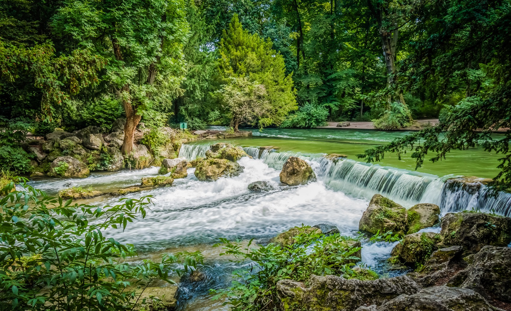 Impressionen Englischer Garten, Mnchen, Deutschland