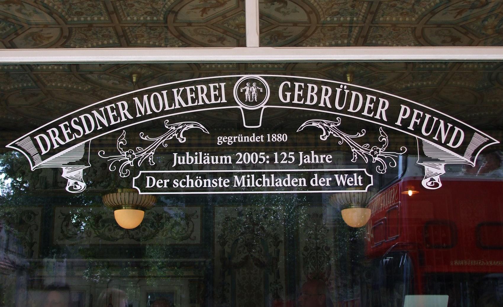 Pfunds Molkerei Dresden