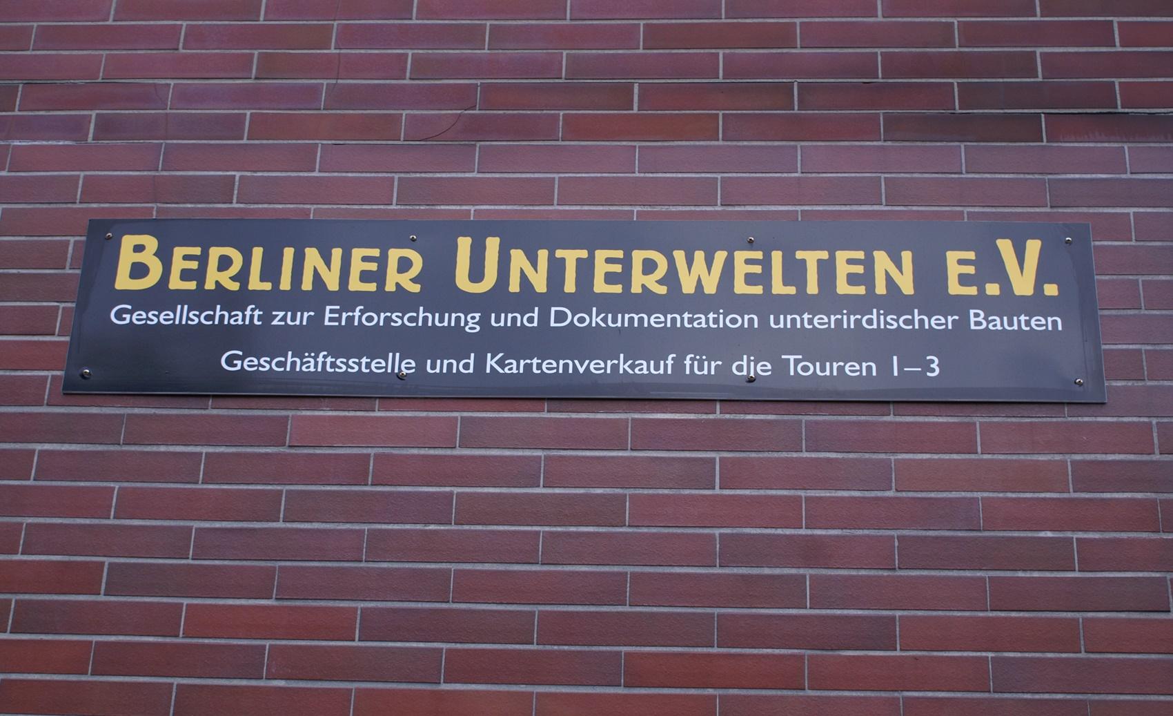 Berliner Unterwelten