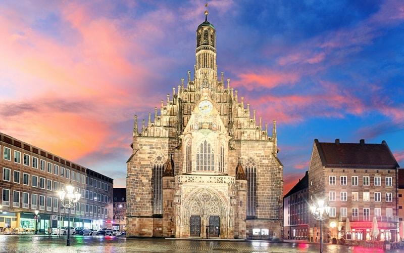 Sehenswürdigkeiten Nürnberg Frauenkirche