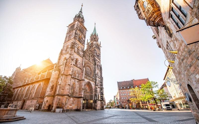 St. Lorenz Sehenswürdigkeiten Nürnberg
