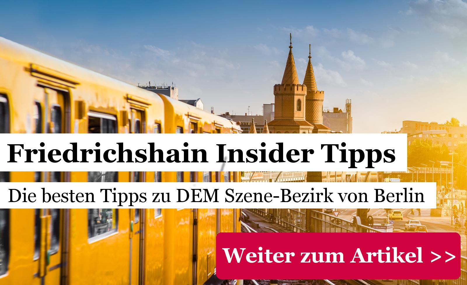 Friedrichshain Insidertipps