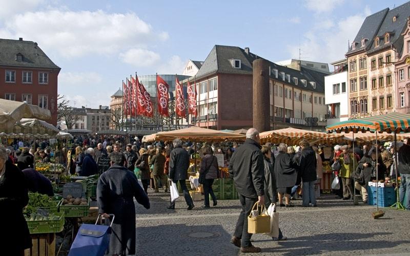 Mainz Wochenmarkt Mainz