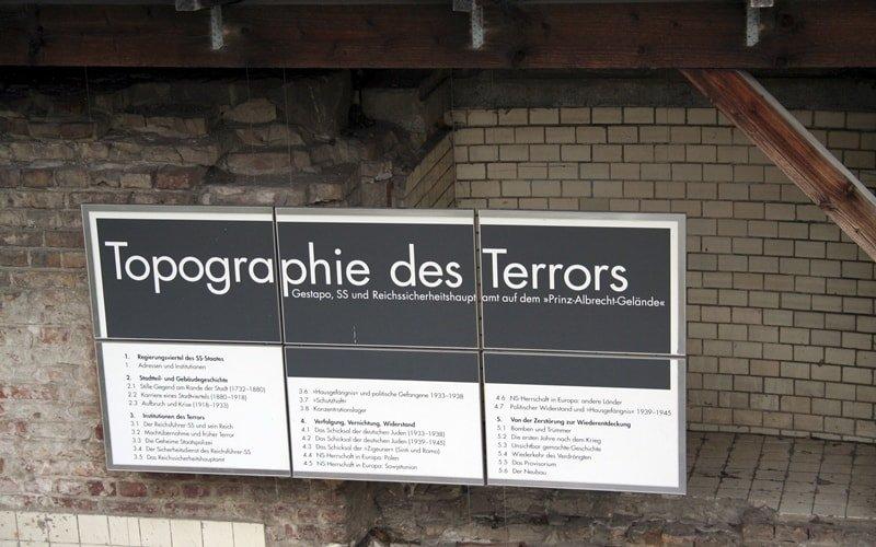 Museum Berlin Topographie des Terrors