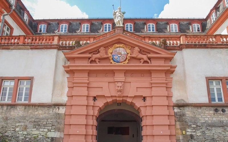 Zitadelle Mainz Umgebung