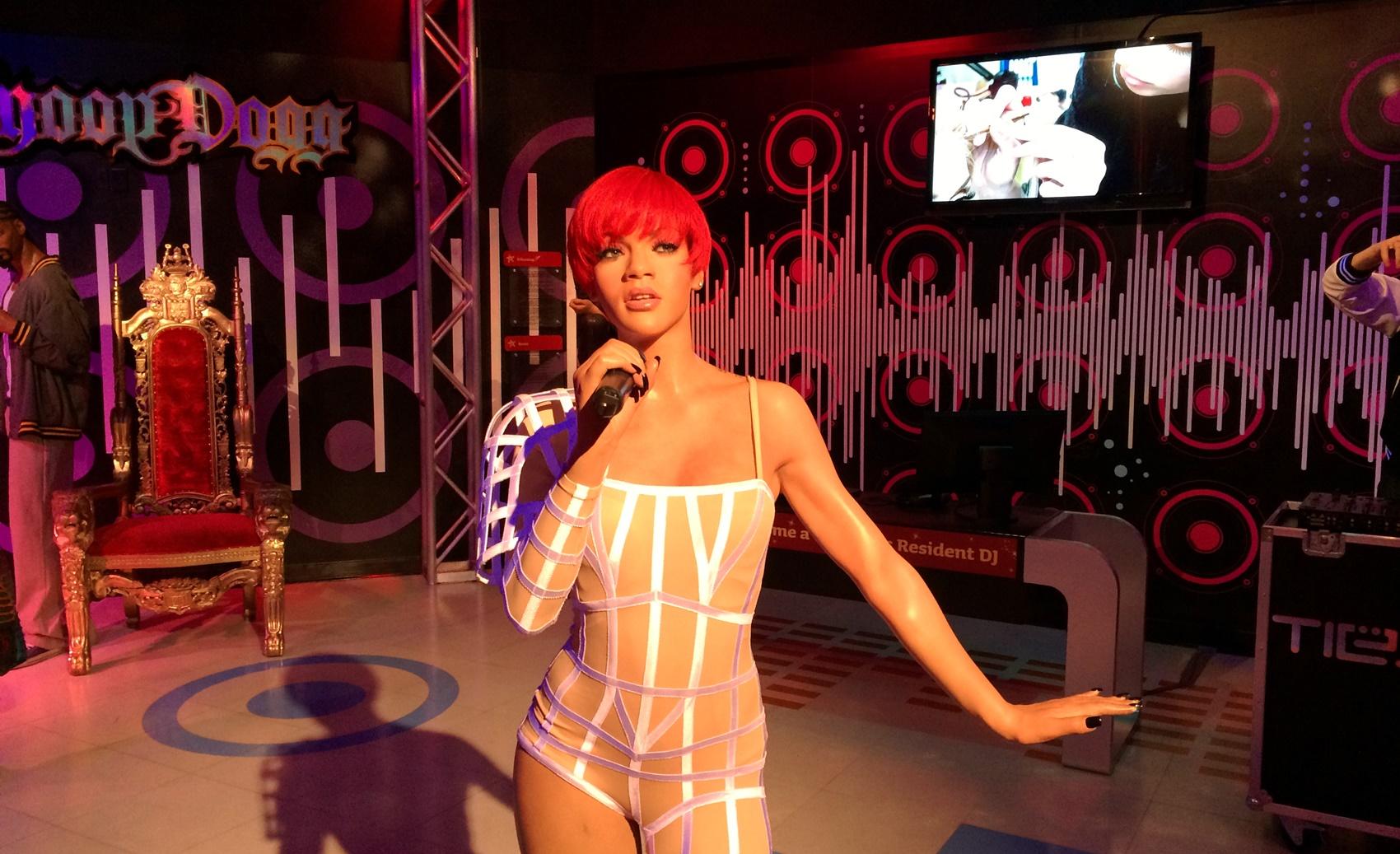 Rihanna Wachsfigur