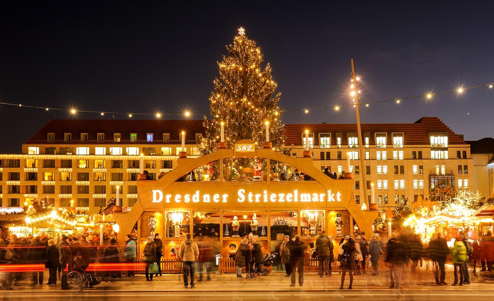 Weihnachtsmarkt Dresden 2017: Striezelmarkt & Co. + Öffnungszeiten