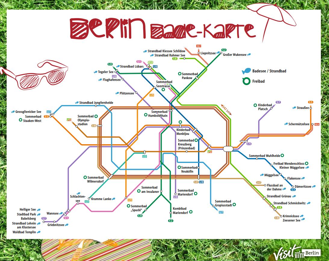 Badekarte Berlin