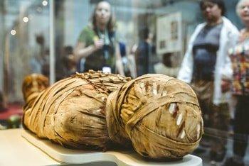 British Museum Mumie