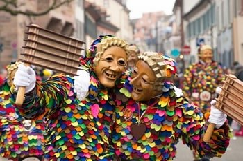 Karneval Venedig Umzug