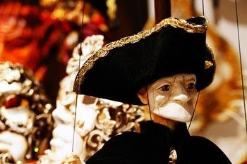 Marionettentheater Karneval Venedig
