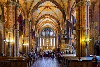 Matthias Kirche Innenraum