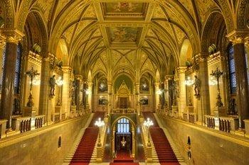 Parlamentsgebäude innen