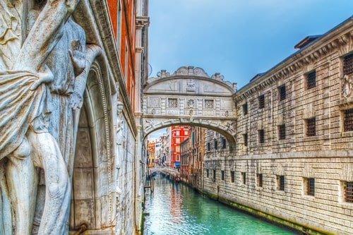 Seufzerbrücke Venedig