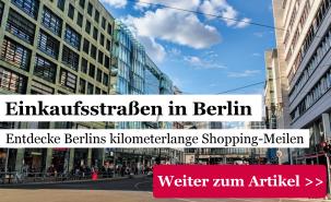 Einkaufsstraße Berlin