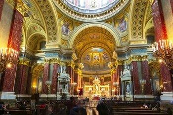 St. Stephans-Basilika Innenraum