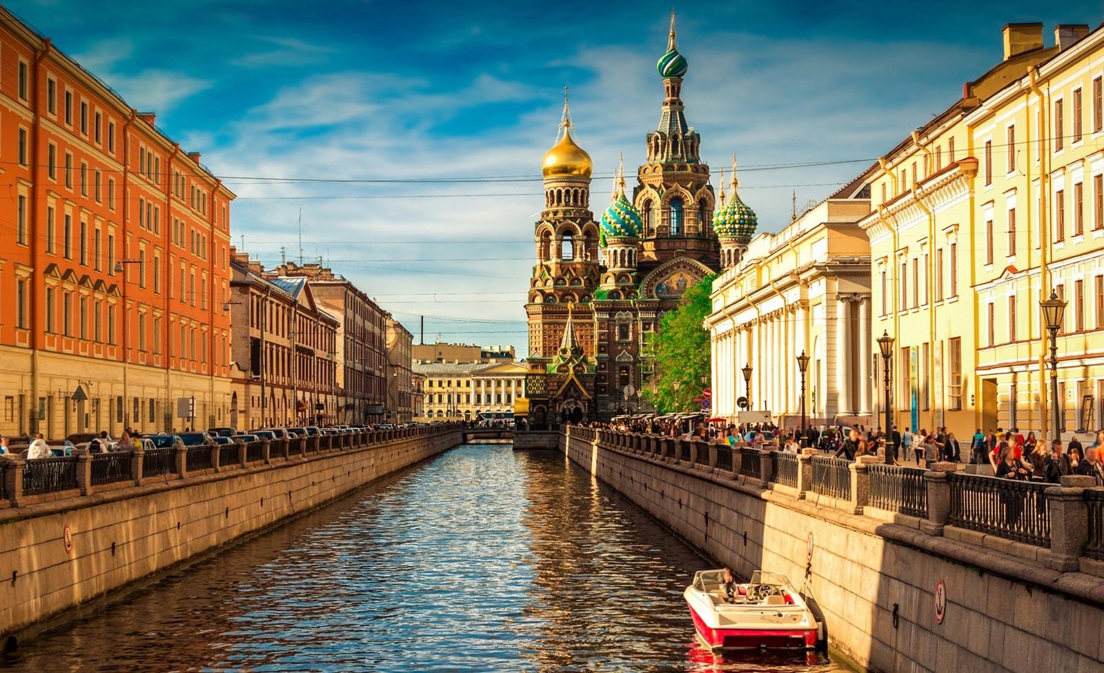 Stadtansicht Sankt Petersburg