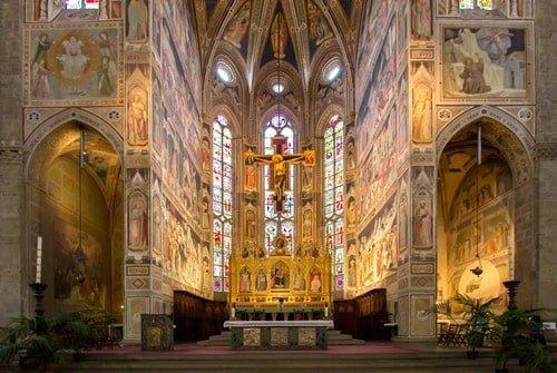 Basilica Santa Croce Innen