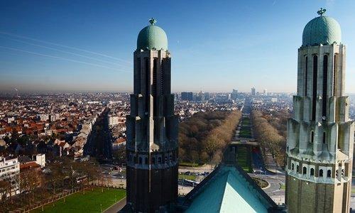 Basilika Blick auf Brüssel