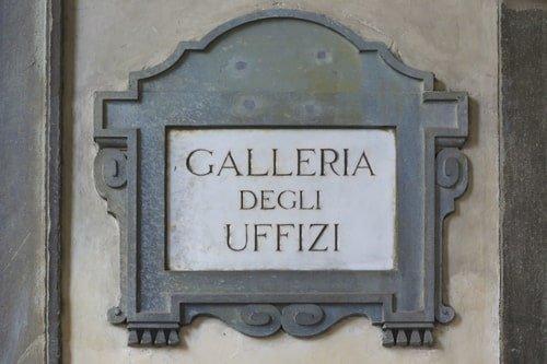 Galleria degli Uffizi Florenz