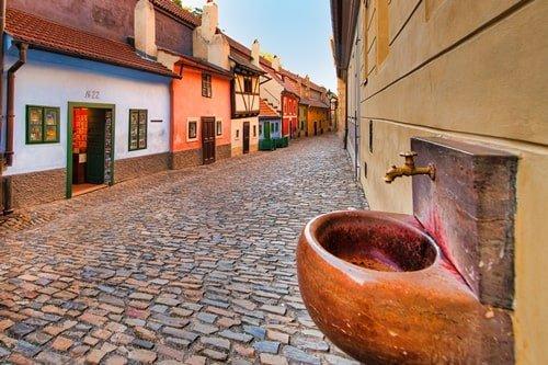 Goldenes Gässchen Prag